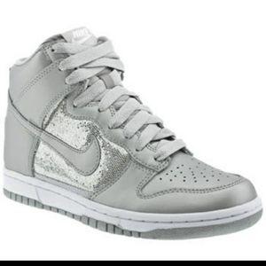 Nike Glittery high tops